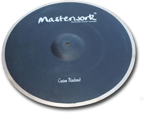 Masterwork Custom Blackened Medium Crash 13'' CB13MC image