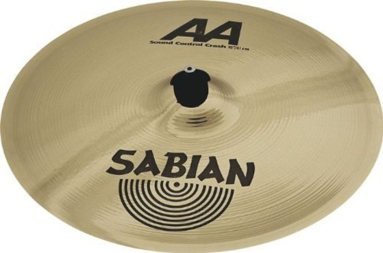 Sabian AA Sound Control Crash 16'' 21640B image