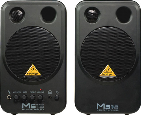 Behringer Monitor Speakers MS16 image
