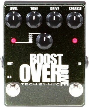 Tech 21 Boost Overdrive Metallic image