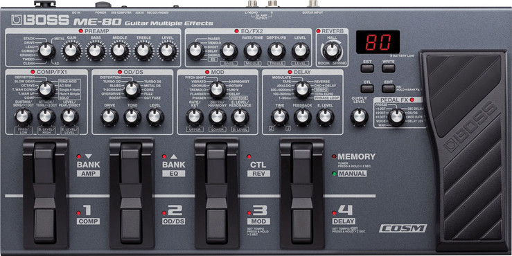 Boss ME-80 Guitar Multiple Effects image
