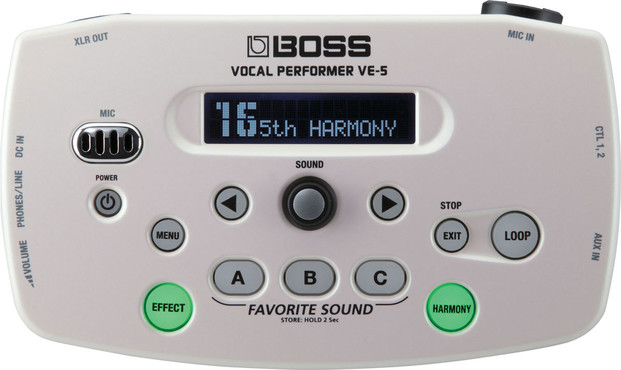Boss VE-5-WH Vocal Performer image