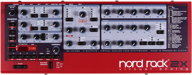 Nord Rack 2X image