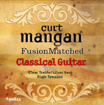 Curt Mangan High Tension Classical (Clear/Silver) image