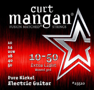 Curt Mangan Pure Nickel Wound (10-50) image
