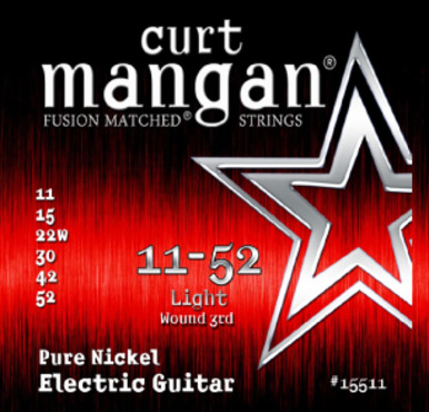 Curt Mangan Pure Nickel Wound (11-52) image