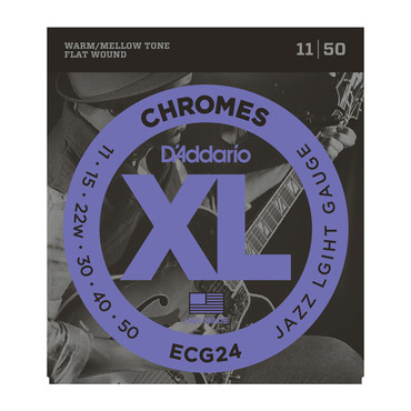 D'Addario Chromes Jazz Light ECG24 (11-50) image
