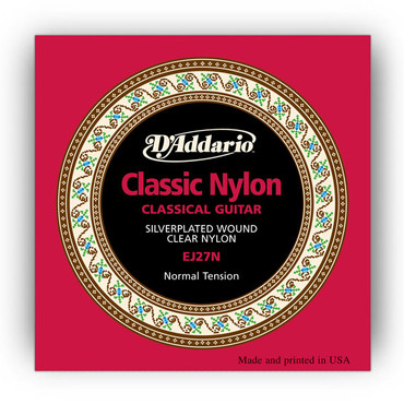 D'Addario Classic 1/2 Student Nylon Fractional, Normal Tension EJ27N image