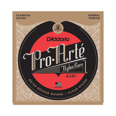 D'Addario Pro-Arte 80/20 Bronze Nylon Normal Tension EJ47 image