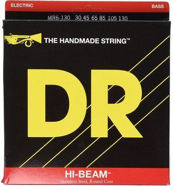 DR Bass Hi-Beam MR6-130 Medium 6-String (30-130) image