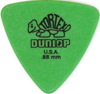 Dunlop 431R.88 Tortex Triangle 72 Pack image