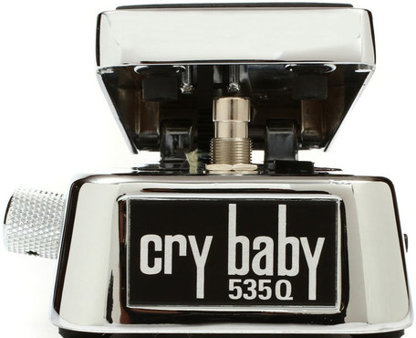 Dunlop Cry Baby 535Q Chrome Multi-Wah image
