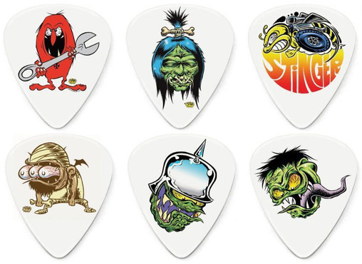 Dunlop BL111 Tortex Dirty Donny Series 1 Pick Cabinet image