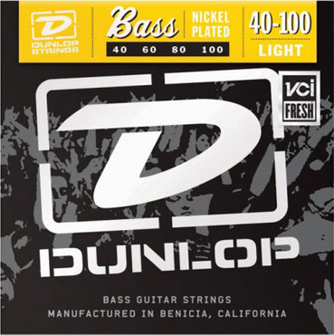 Dunlop Electric Bass Nickel Wound Light DBN40100 (40-100) image