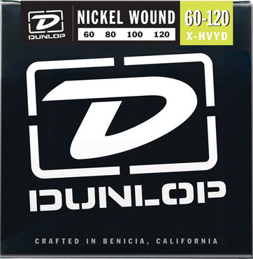 Dunlop Electric Bass Nickel Wound Extra Heavy Drop DBN60120 (60-120) image
