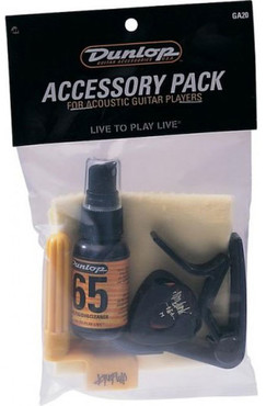 Dunlop GA20 Acoustic Guitar Accessory Pack image