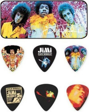 Dunlop JH-PT01M Jimi Hendrix Are You Experienced Medium image