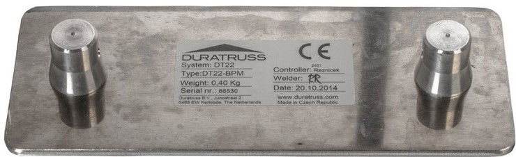 Duratruss DT 22 BPM Base Plate Male image