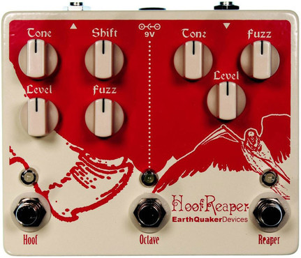 EarthQuaker Hoof Reaper Octave Fuzz image