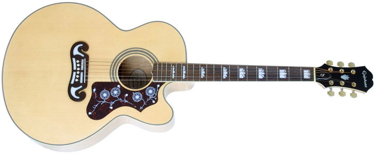 Epiphone EJ-200SCE Natural image