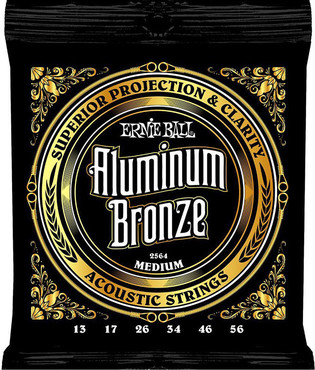 Ernie Ball 2564 Aluminum Bronze Medium (13-56) 0