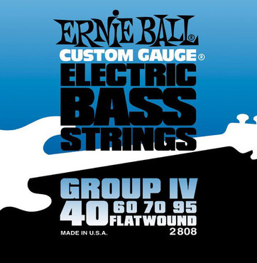 Ernie Ball 2808 Flatwound Bass Group IV (40-95) image