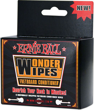 Ernie Ball 4276 Wonder Wipes Fretboard Conditioner image
