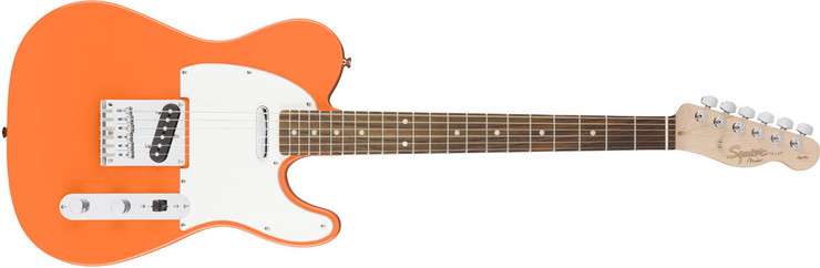 Fender Squier Affinity Telecaster Rosewood Competition Orange image