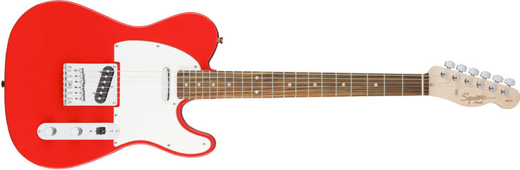 Fender Squier Affinity Telecaster Rosewood Race Red image