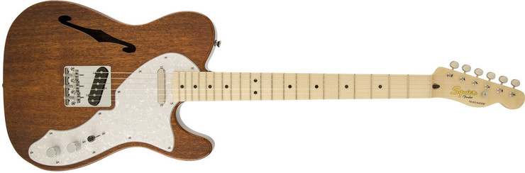 Fender Squier Classic Vibe Telecaster Thinline Maple Natural image
