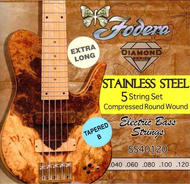 Fodera Steel 40120S-T XL Tapered B Extra Long (40-120) image