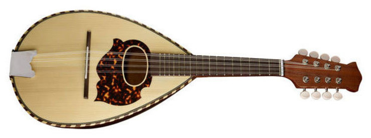 Gewa 505250 Round Mandolin Spruce/Maple/Cherry image