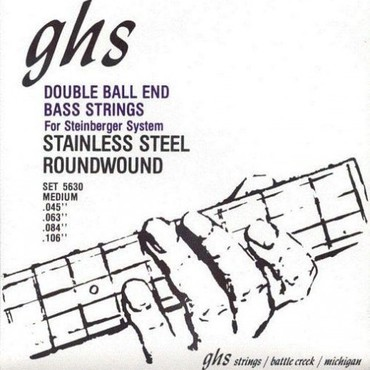 GHS Bass Double Ball End 5630 Medium (45-106) image