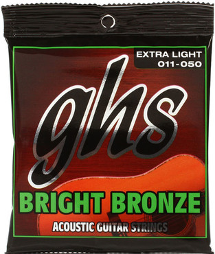 GHS Bright Bronze Extra Light BB20X (11-50) image