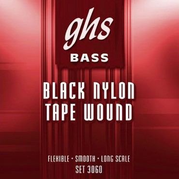 GHS Bass Tapewound 5-String Medium 3060-5 (50-125) image
