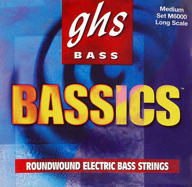 GHS Bass Bassics Medium M6000 (44-106) image