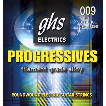 GHS Progressives Extra Light PRXL (9-42) image