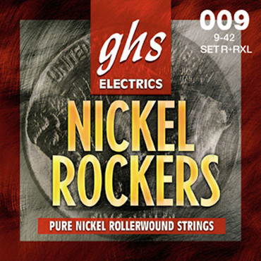 GHS Nickel Rockers Extra Light / Light R+RXL/L (9-46) image
