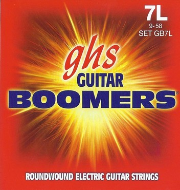 GHS Boomers 7-String Extra Light GB7L (9-58) image