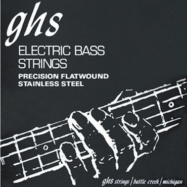 GHS Bass Precision Flats 5 String Medium M3050-5 (45-126) image