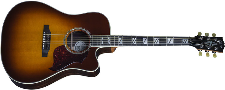 Gibson Songwriter Cutaway Progressive Autumn Burst image