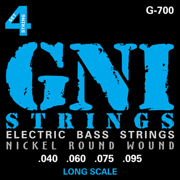 GNI Electric Bass Nickel Round Wound G700 (40-95) image