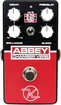 Keeley Electronics Abbey Chamber Verb image