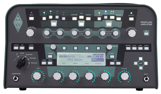 Kemper Profiling Amplifier Head Black image