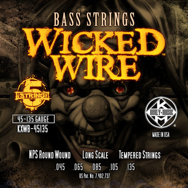 Kerly Wicked Wire Bass KXWB-45135 (45-135) image