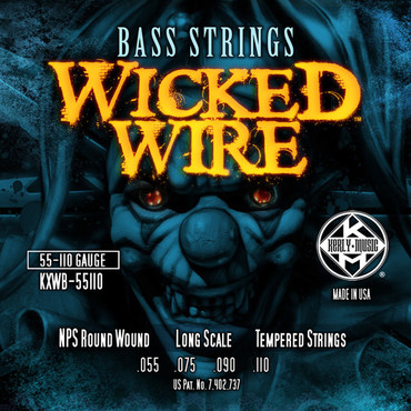 Kerly Wicked Wire Bass KXWB-55110 (55-110) image