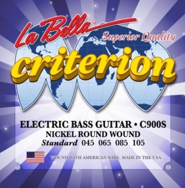 La Bella Criterion Electric Bass Standard C900S (45-105) image