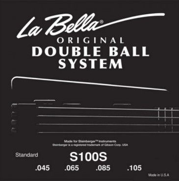La Bella Double Ball Bass Standard S100S (45-105) image