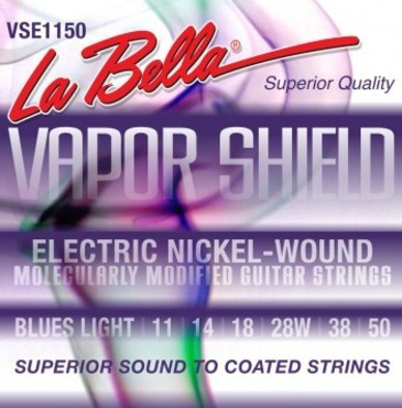 La Bella Vapor Shield Electric Blues Light VSE1150 (11-50) image