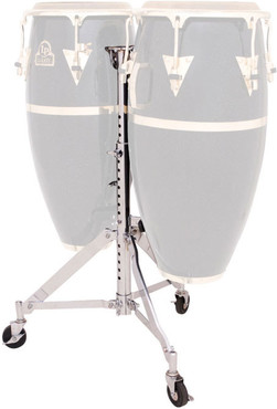 Latin Percussion LP290S Slide Mount Double Conga Stand image
